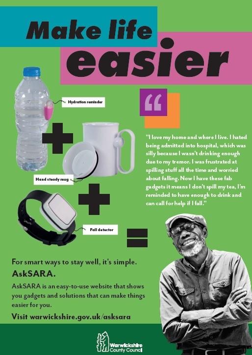 AskSARA green poster image