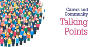 Carers and communty banner