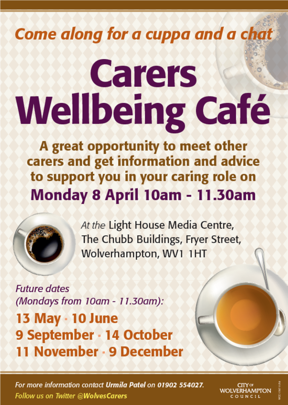 carers Cafe April