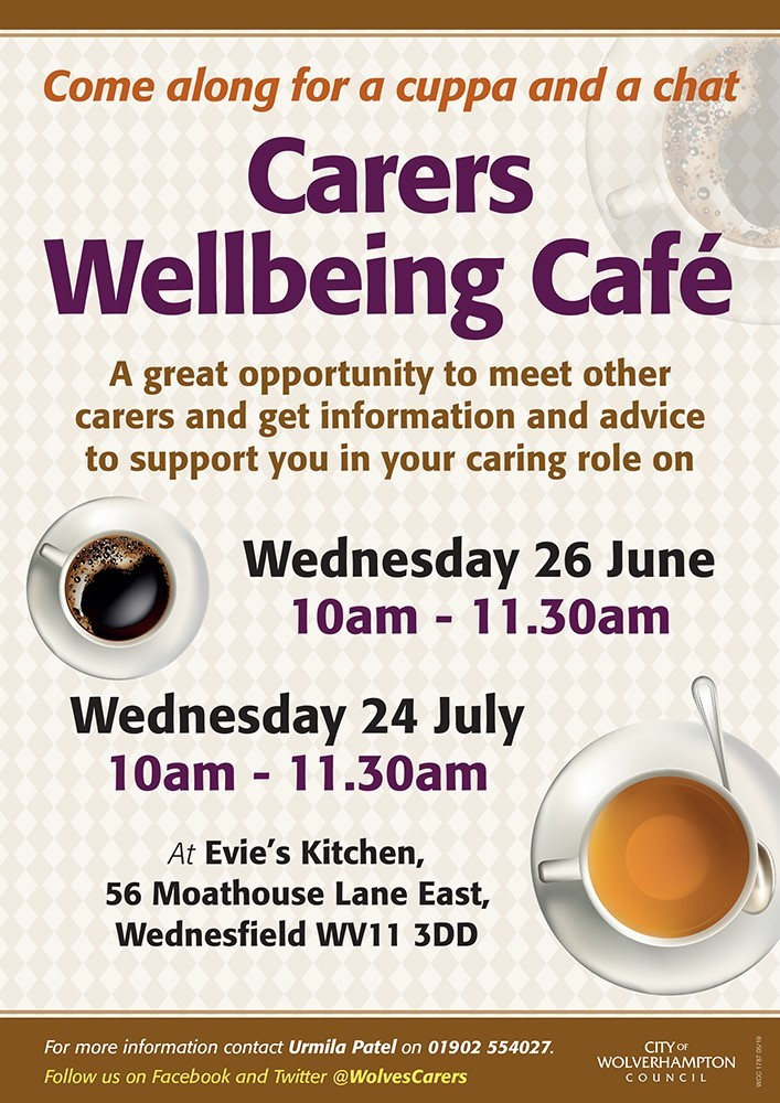 Carers Wellbeing Cafe 2