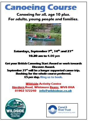 Wildside Canoe Course