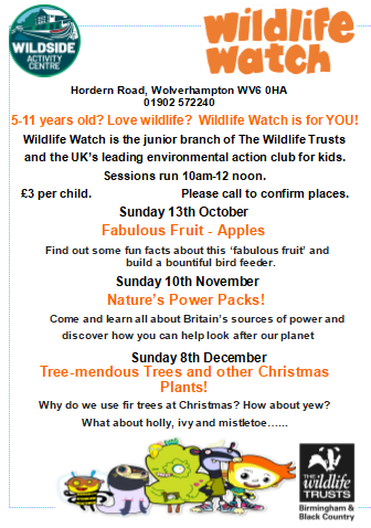 Wildside Activity Centre from October 2019