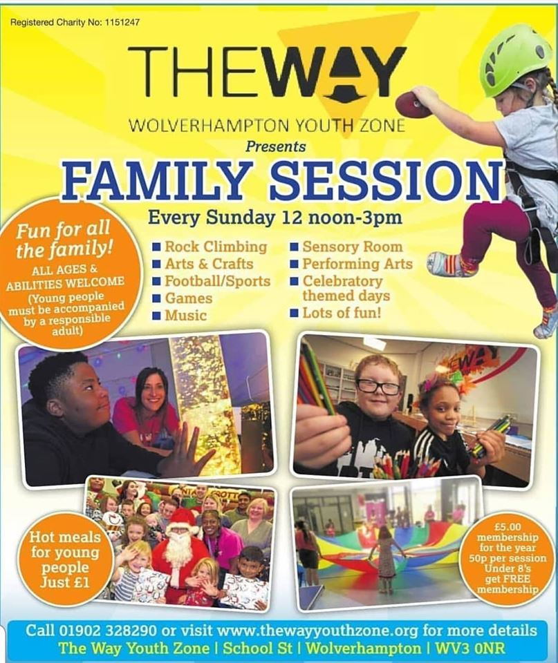 The Way Sub=nday Family Sessions