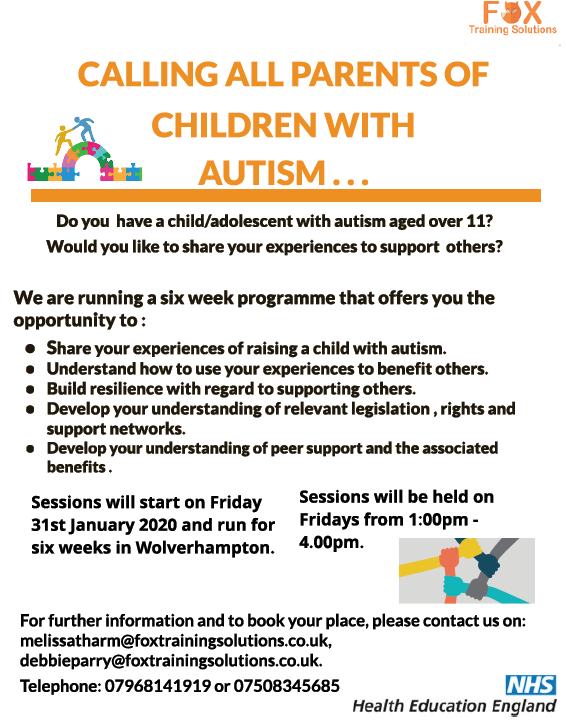Chiildren with Autism Flyer