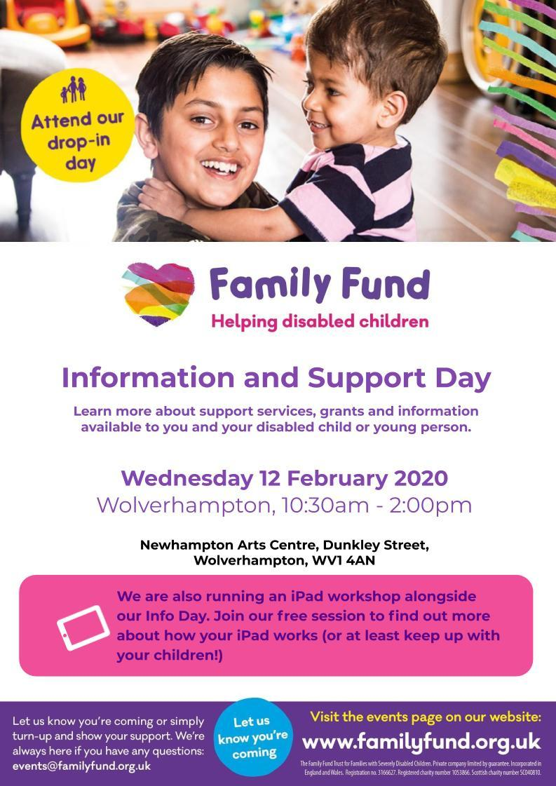 Family Fund Info day