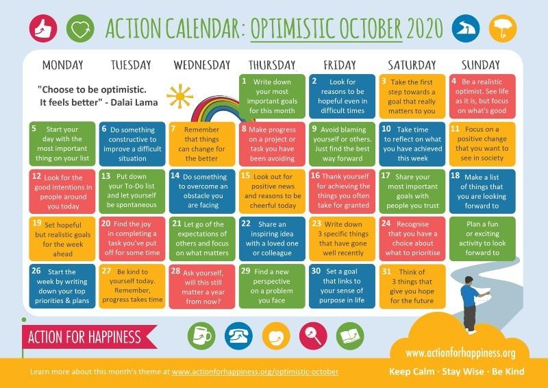 AFH October Calendar
