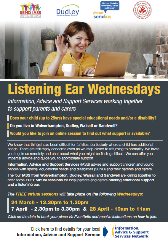 Listening Ear Wednesdays