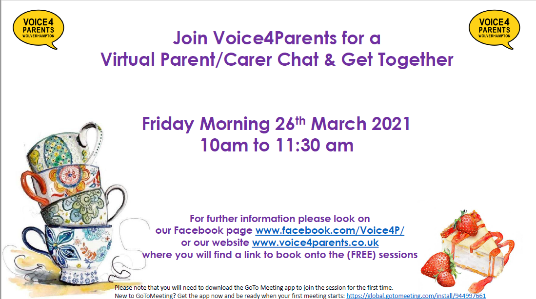 V4P coffee morning March 21