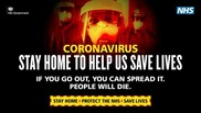 Stay home to help save lives