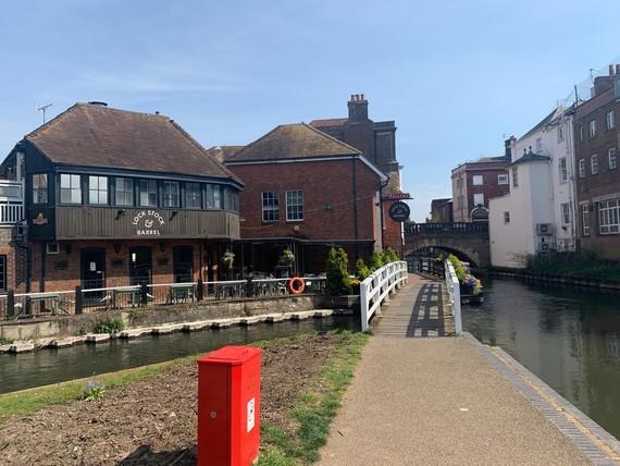 Newbury town centre