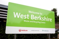 Waste and Recycling Centres sign