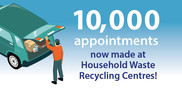 10,000 recycling booking