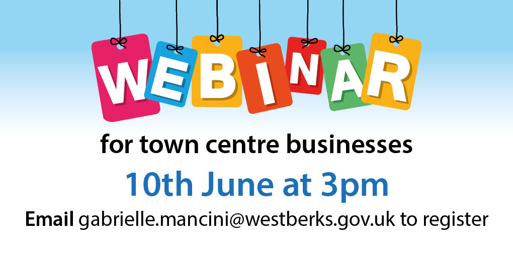 Webinar for Businesses Graphic