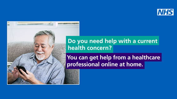 NHS Health at Home graphic