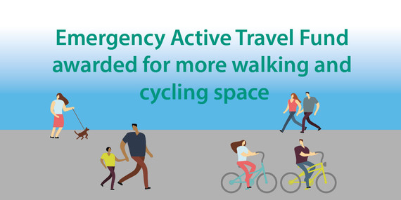 Emergency Active Travel Fund Graphic