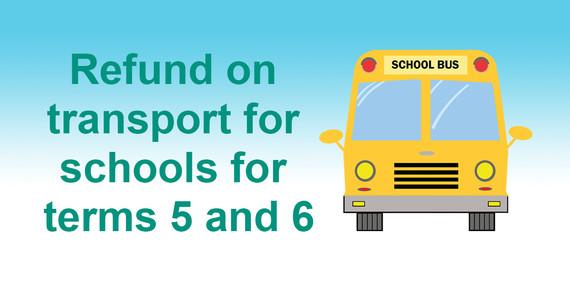 School Transport Refund Graphic