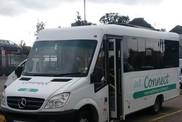 West Berkshire Connect Mini bus