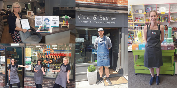 Thatcham Businesses Reopening Montage