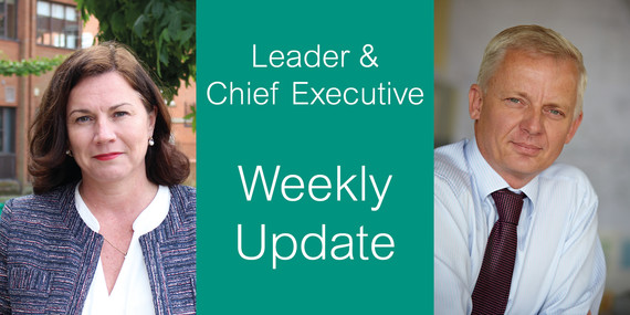 Weekly Update from Lynne and Nick