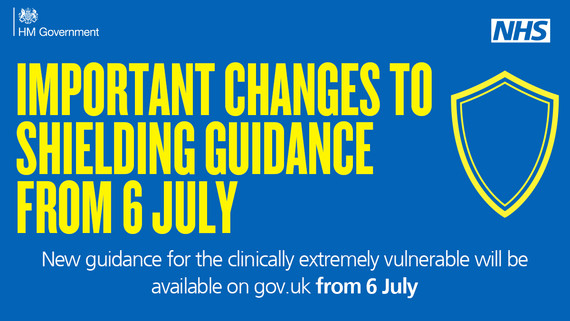 Shielding Updated Guidance for 6 July