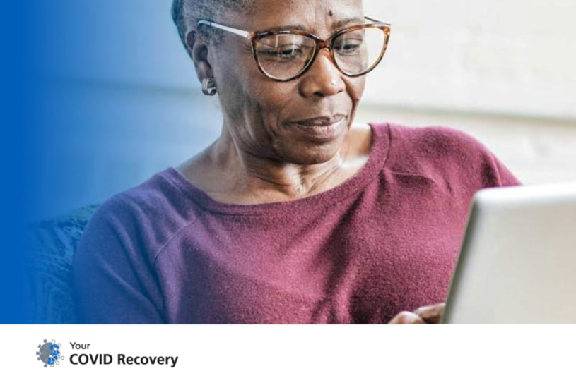 Image for NHS Your Covid Recovery website