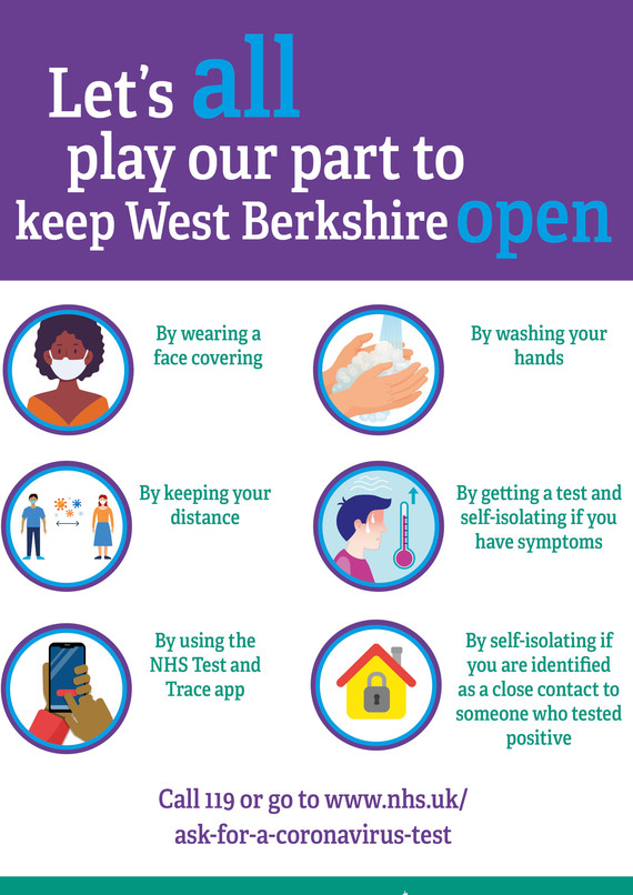Keep West Berks Open New poster
