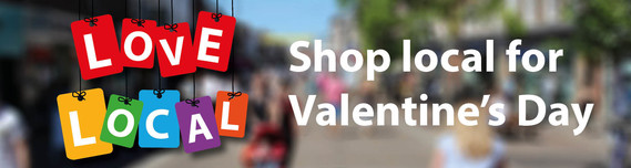 Shop local for Valentine's Day