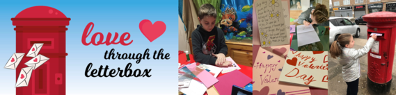 Love through the letterbox with children