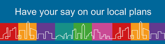 Have you say on local plan banner