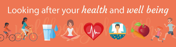 Health and well being banner