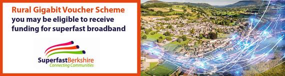 Superfast broadband banner