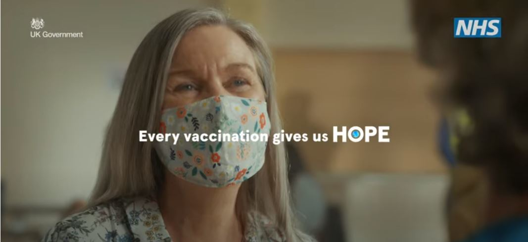Every vaccination gives us hope