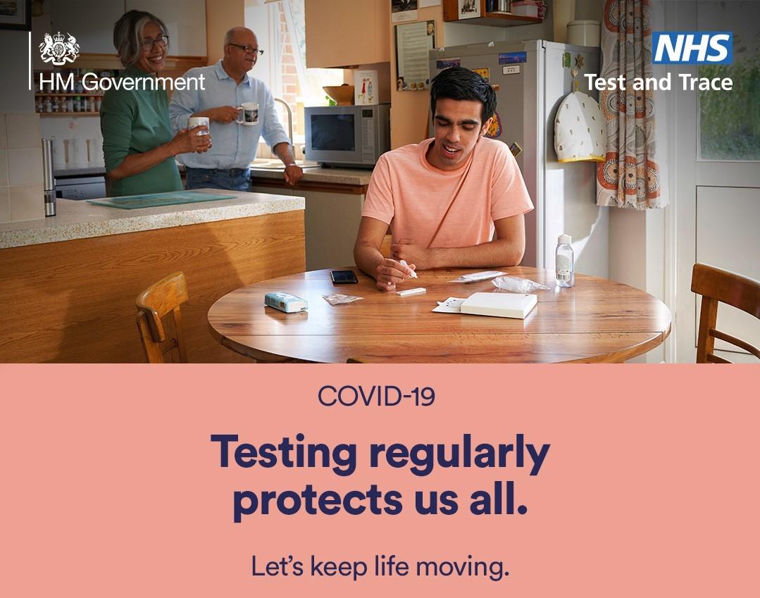 testing regularly