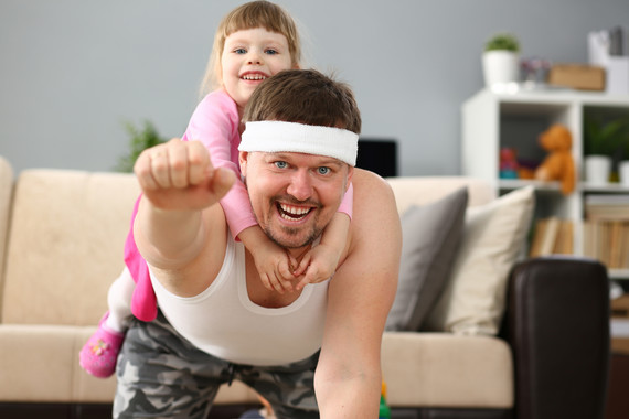 Have fun keeping fit at home