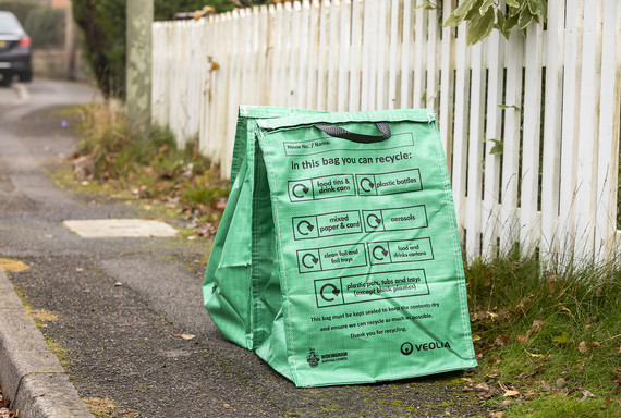Waterproof recycling bags