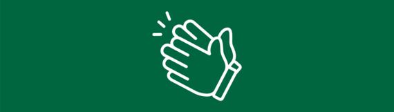 A clap icon