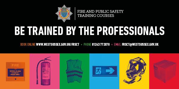Fire Training Advert