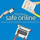 Staying Safe Online logo
