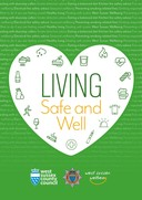 living safe and well leaflet