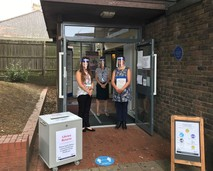 Lancing Library reopen