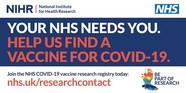 Help find a vaccine