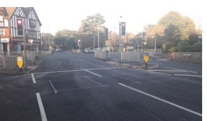 Traffic lights installed in Worthing