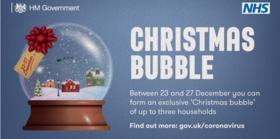 Christmas bubble