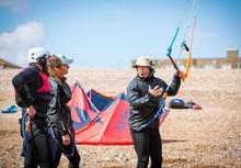 kite surfing lancing