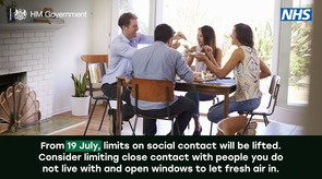 social contact 19 July