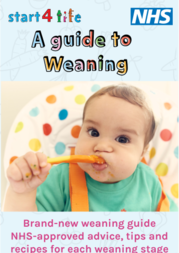 Weaning guidance graphic
