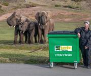 Jumbo bin launch at West Midlands Safari Park