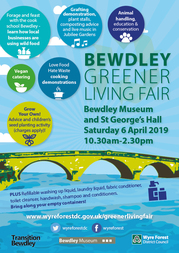 Greener living fair poster