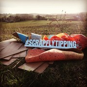 Scrap Fly tipping photograph