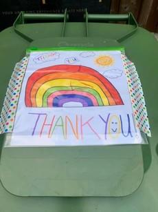 Bin Thank you rainbow